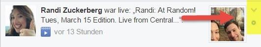 Facebook Live Benachrichtigung Ausschalten - finden