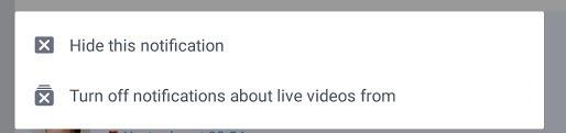 Facebook Live Benachrichtigung Ausschalten - vom Handy